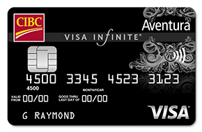 Aventura Visa Infinite Credit Card