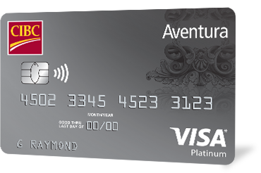 cibc aventura visa infinite redeem points