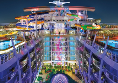 Seven-Night Royal Caribbean Cruise aboard the Harmony of the Seas