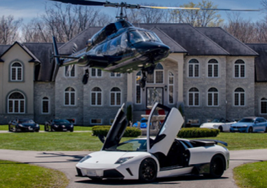 Grand Exotic Car Tour Experience for Two