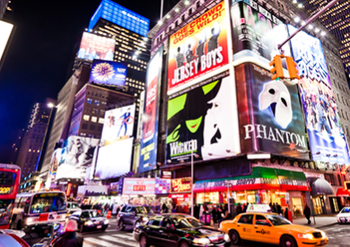 New York Theatre and Dining Experience for Two