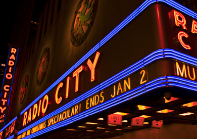 Radio City Christmas Spectacular and Stage Door Tour in New York